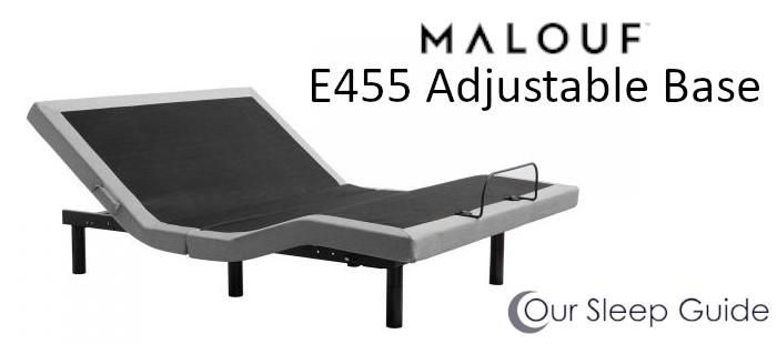 malouf adjustable power base e455 review