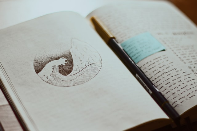 journalling when you are stressed in order to sleep better