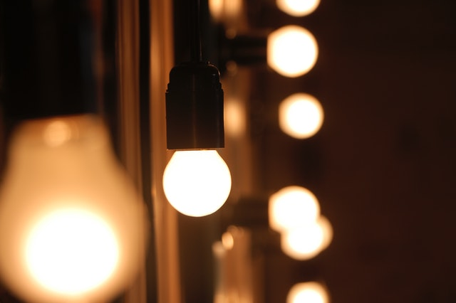 turn down the lights for relaxing mood