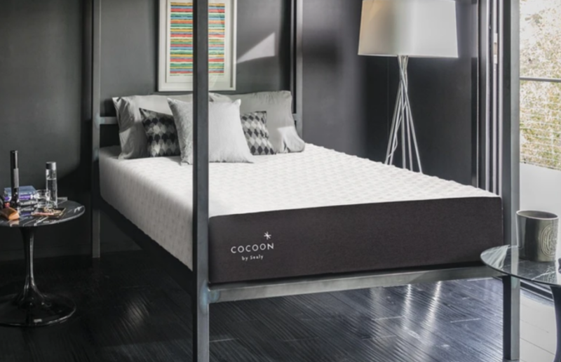 cocoon chill hybrid mattress review