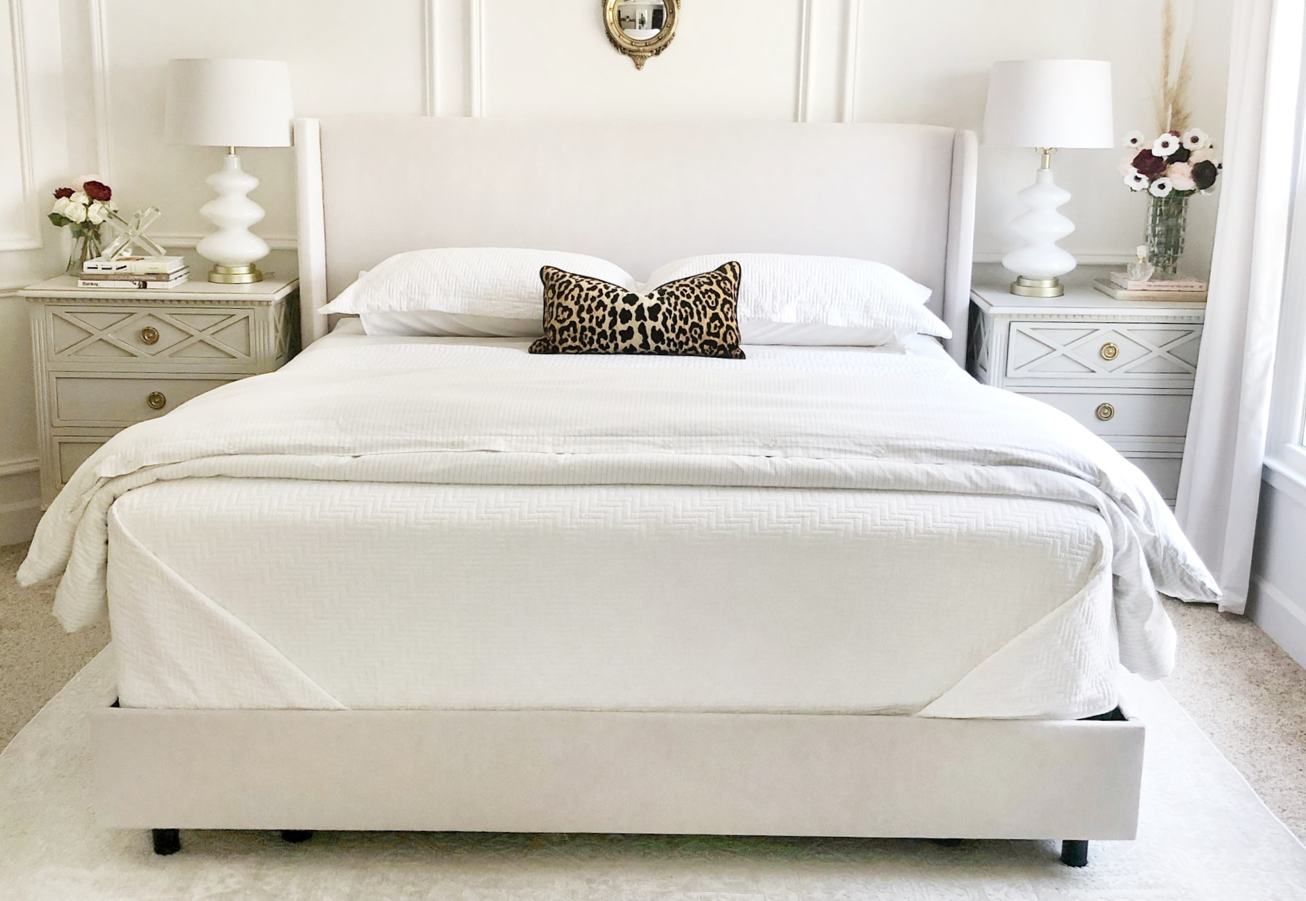 expensive feeling bedroom on a budget