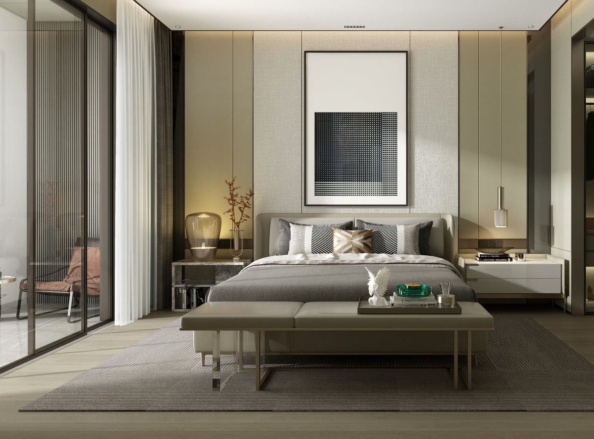 japandi bedroom design