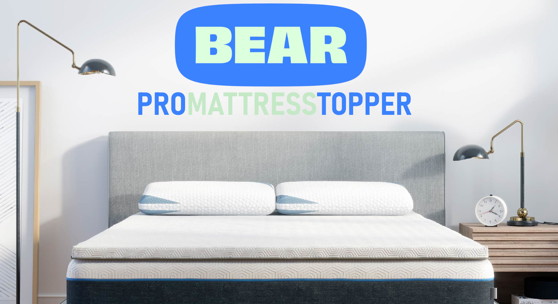bear pro mattress topper review