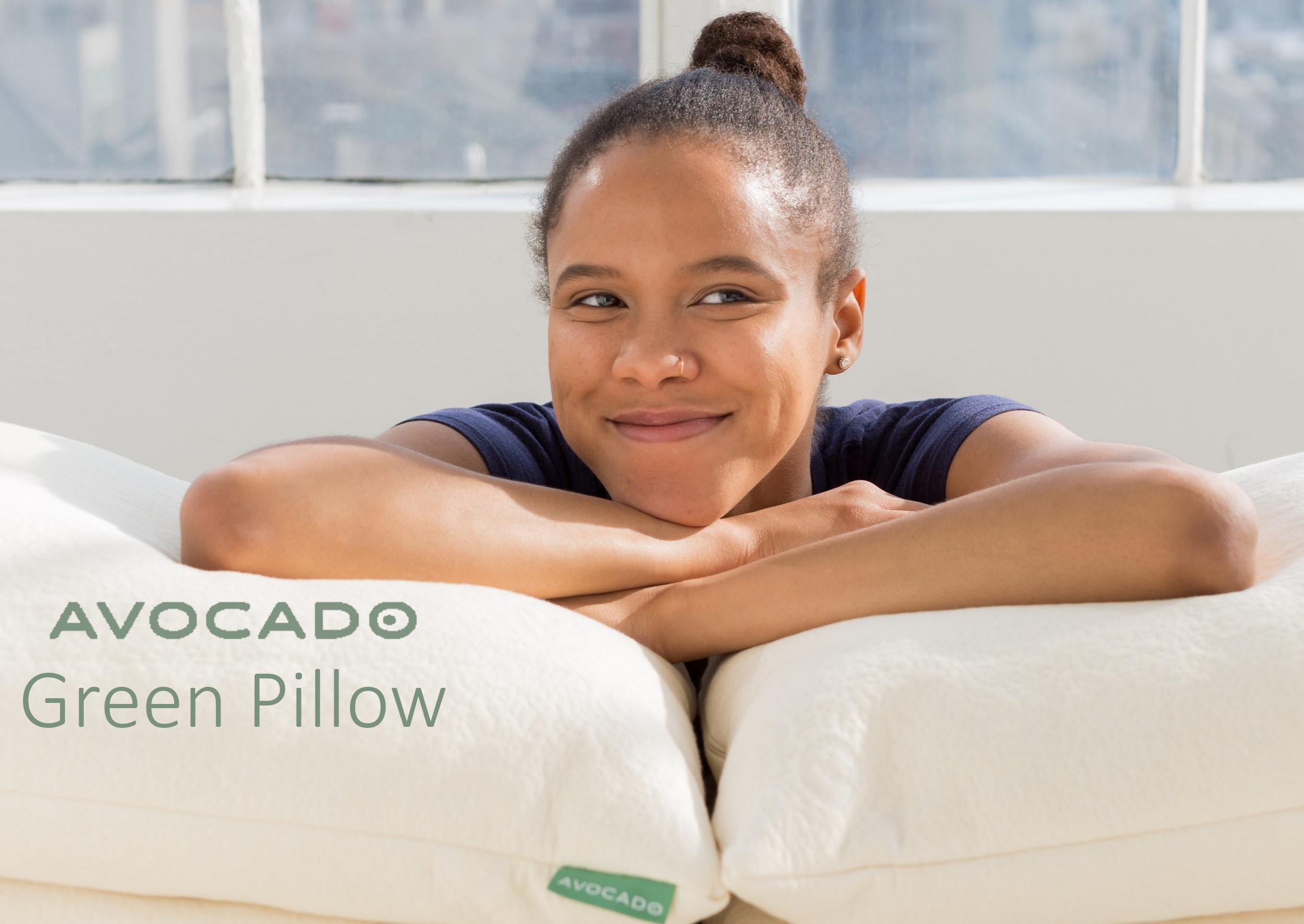 avocado green pillow review