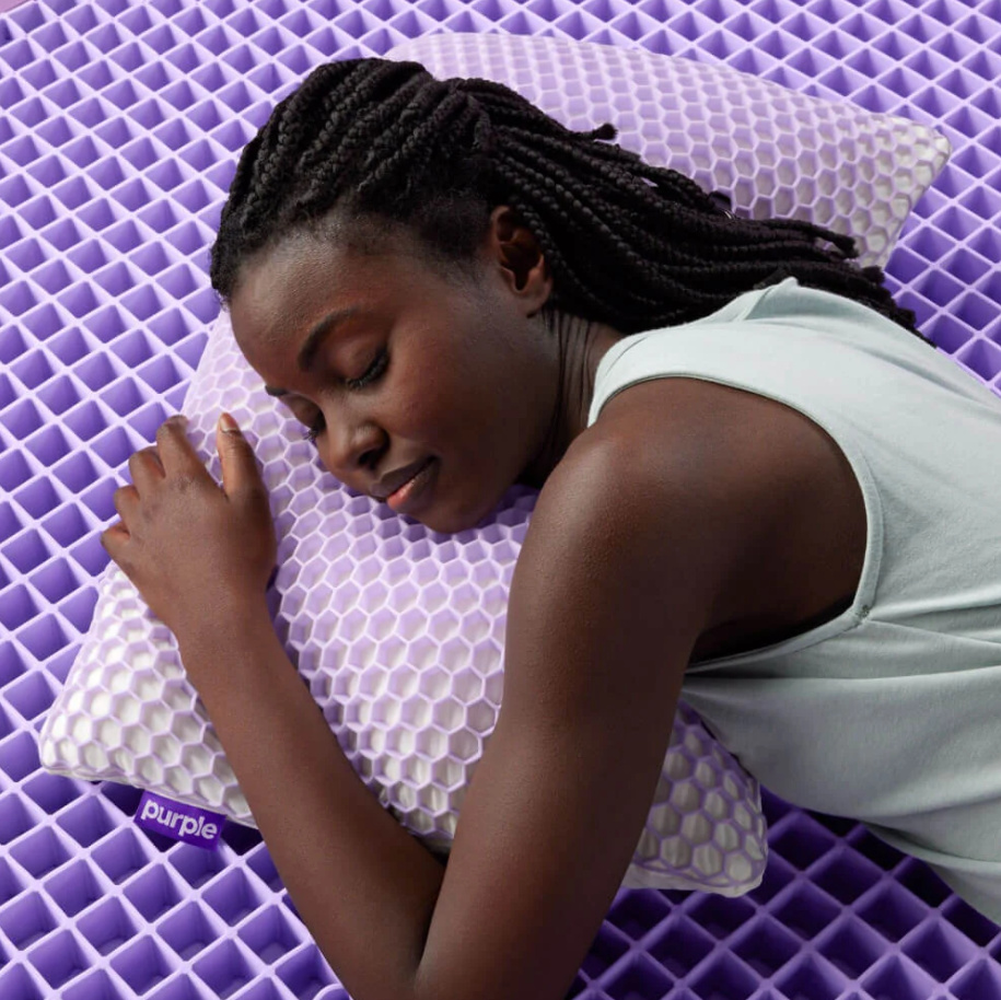 optimal comfort luxury pillow from purple
