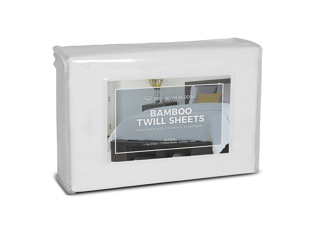 bamboo twill sheets from bb
