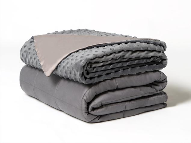 the brooklynn bedding weighted blanket and cover