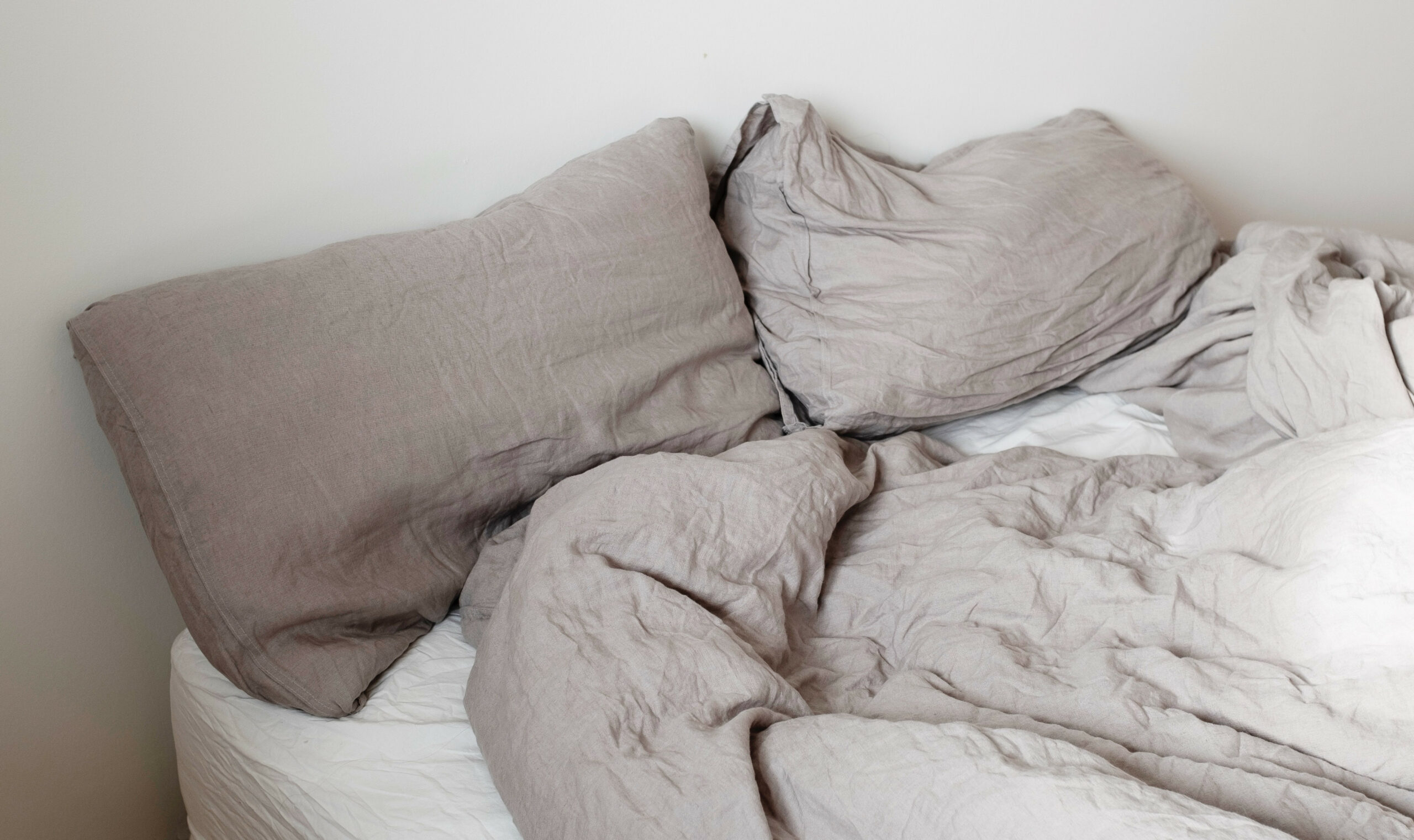 dirty old pillow needs to be replaced