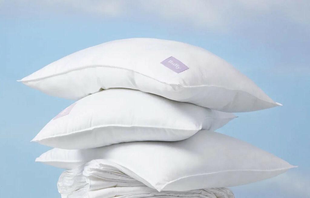 eucalyptus pillow and recycled pet cloud pillow