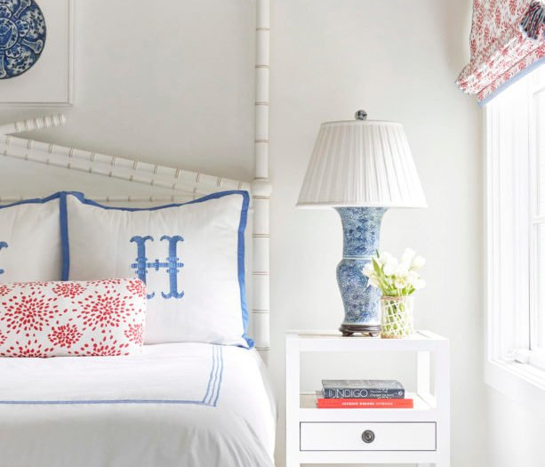 beautiful grandmillennial style bedroom on a budget