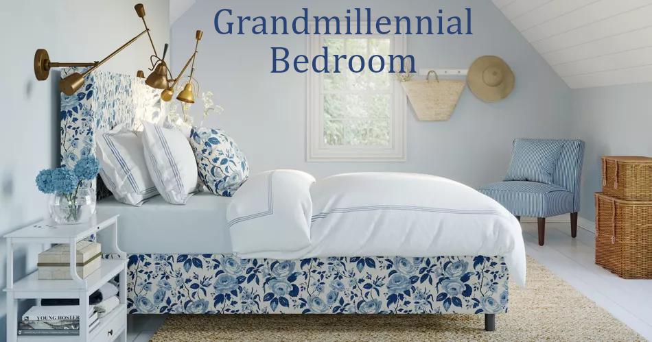 Create A Grandmillennial Bedroom On A Budget