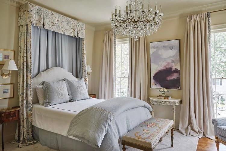 the grand millennial bedroom